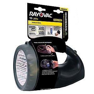 01 Lanterna Ar Livre Recarregável Híbrida Rayovac