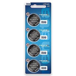 04 Baterias Pilhas Renata Cr2430 1 Cartela