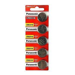 05 Pilhas Baterias Cr2016 3v Panasonic 01 Cartela