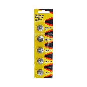 05 Pilhas Baterias Cr1632 3v Panasonic 01 Cartela