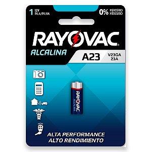 01 Pilha Bateria 23a 8lr932 12v Alcalina Rayovac
