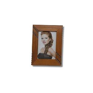 Porta Retrato em madeira 10x15 diagonal