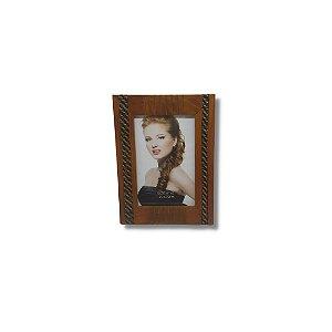 Porta Retrato 10x15 em madeira vertical