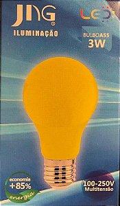 Lampada LED Bolinha 3W E27 100 - 250VCA  Jng Amarela