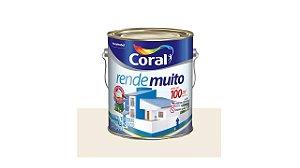 TINTA ACRILICA CORAL RENDE MUITO 3,6 L BRANCA