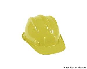 Capacete Segurança Aba Frontal Amarelo