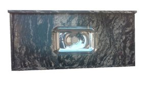 Pia Granito Preto Indiano Cuba Inox 1,50M X 55Cm