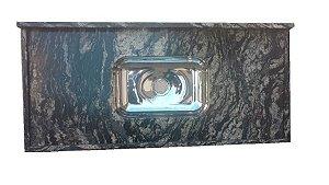 Pia Granito Preto Indiano Cuba Inox 1,20M X 55Cm