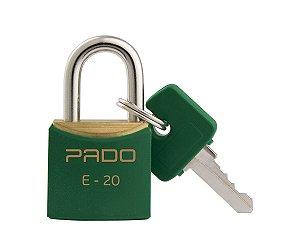 Cadeado Pado 20mm Verde