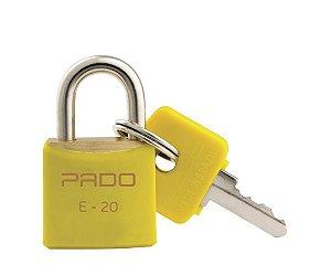 Cadeado Pado 25mm Amarelo
