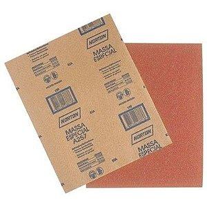Kit Lixa Massa 80 Norton Granulometria Com 10 UN