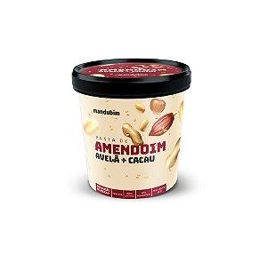 Pasta de Amendoim Integral com Avelã e Cacau 450g