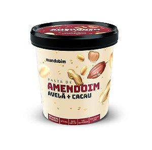 Pasta de Amendoim Integral com Avelã e Cacau 1,02 Quilos