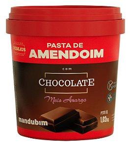Pasta de Amendoim com Chocolate Meio Amargo 1,02 Quilos