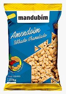Amendoim Torrado Granulado 1,05 Quilos