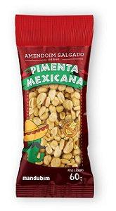 Amendoim Salgado Pimenta Mexicana 60g