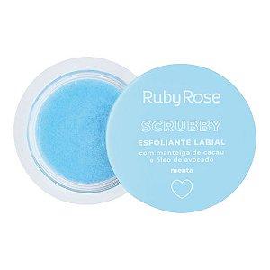 SCRUBBY ESFOLIANTE LABIAL MENTA - RUBY ROSE