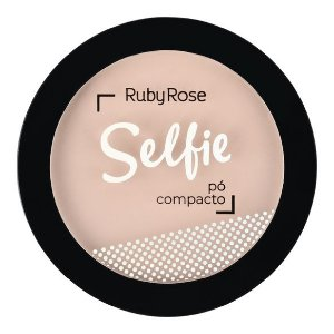 PÓ COMPACTO SELFIE BEGE 44 - RUBY ROSE