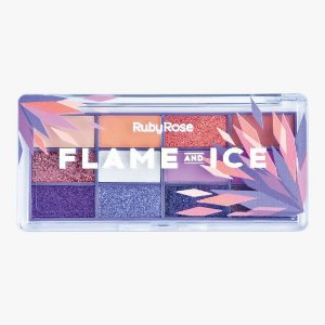 PALETA DE SOMBRAS FLAME AND ICE - RUBY ROSE