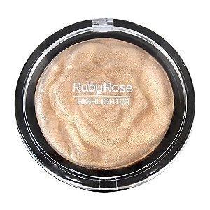 BAKED HIGHLIGHTER POWDER PEROLADO - RUBY ROSE