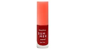 GEL TINT SUMMER CORAL - RUBY ROSE