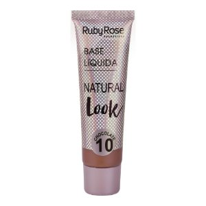 BASE LÍQUIDA NATURAL LOOK CHOCOLATE 10 - RUBY ROSE