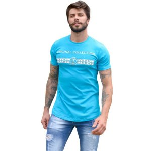 Camiseta OC Gregory Turquesa