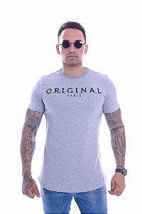 Camiseta OC Confort Week Cinza Mescla
