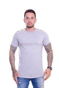 Camiseta OC Confort Patent Cinza Mescla