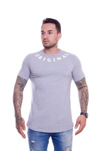 Camiseta OC Exclusive Armor Cinza Mescla