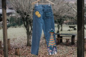 Mom jeans/ Collab Eufrida