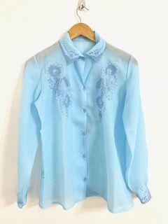 Camisa Baby Blue