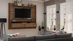 "Painel p/ TV 65"" Home Toronto Gelius Madeirado 160x180x37"