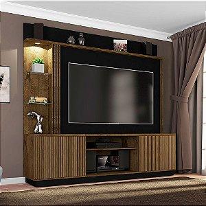 Home Painel Atlanta Tv 65 42x201x188 Cast Rip/Preto Bechara