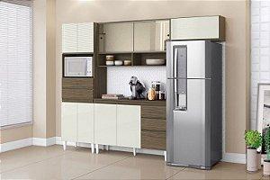 Cozinha Compacta Michele Plus 199X250X48  Off/Imb  Aramóveis