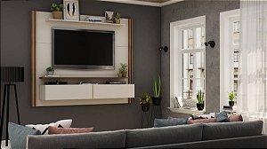 "Painel p/ TV 65"" Home Toronto Gelius Off White160x180x37"