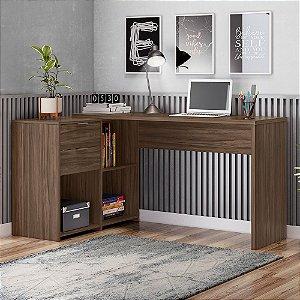 Mesa Office Top NT2060 Notável Nogal 75x200x45