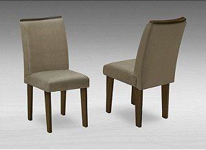 Conjunto 2 Cadeiras Florença Dobuê Castanho/Mascavo 97x42x44