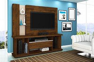 "Home Onix p/ TV 55"" 183x178x45 Canela/Creme Lukaliam"