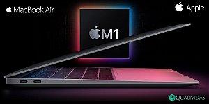 """Apple MacBook Air 13.3"""" com chip M1 novo modelo 2020"""