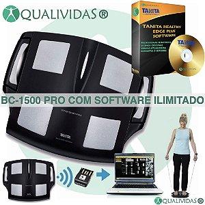 Tanita Bc-1500 InnerScan PRO Com Software Healthy Edge Plus Ilimitado
