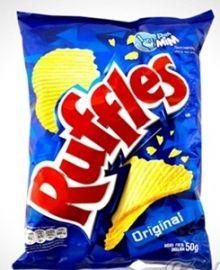 Batata RUFFLES 50g