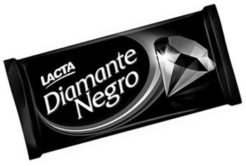 Chocolate em barra Diamante Negro 150g