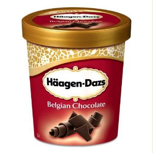 Sorvete Häagen Dazs Chocolate Belga 473ml