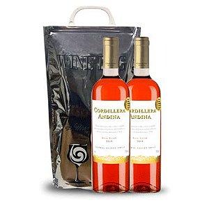 Pack Cordillera Andina Rosé + Winebag