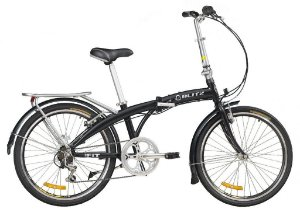 Bicicleta Dobrável Aro 24 Fit Bliz Alumínio Bike 6 V Shimano