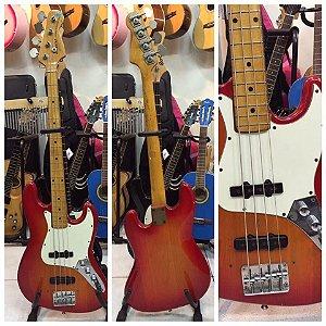 Contra baixo giannini jazz bass antigo