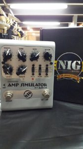 Pedal Nig As1 Amp Simulator