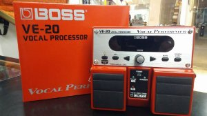 Pedal Multi Efeitos Processador Voz Ve-20 Boss