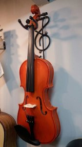 Violino 4/4 Verniz Classico Acoustic Com Estojo Breu Arco